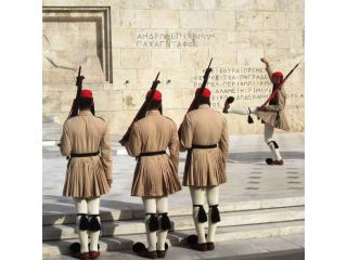 Changing of the guards in Athens image