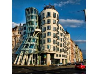 Dancing house (Ginger & Fred) image