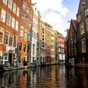 Amsterdam canals image